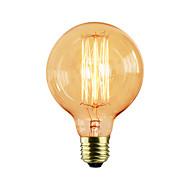 halpa Hehkulamppu-G95 suoraan lanka 220v-240V 60W pyöreä ruokapöytä retrobaari luova moderni koriste nostalgia Edison lamppu