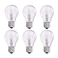 お買い得  -GMY® 6本 42W E26/E27 A55 温白色 2800 K ハロゲン電球 白熱ビンテージエジソン電球 AC 220-240V V