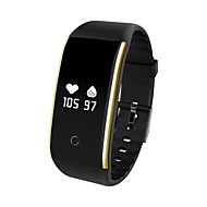 cheap -YY-V9 Smart Bracelet Smartwatch Android iOS Bluetooth APP Control Blood Pressure Measurement Calories Burned Exercise Record Pulse Tracker Pedometer Activity Tracker Sleep Tracker Sedentary Reminder