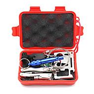 Multitools fischio di sopravvivenza Fibbia Coltelli Survival Kit Fire Starter Compassi Escursionismo Campeggio All'apertoMultifunzione