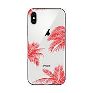 Etui Käyttötarkoitus Apple iPhone X / iPhone 8 Plus / iPhone 7 Kuvio Takakuori Scenery Pehmeä TPU varten iPhone X / iPhone 8 Plus / iPhone 8