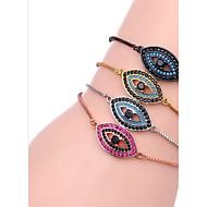 cheap -Women's Chain Bracelet Zircon Ladies Bracelet Jewelry Black / Silver / Rose Gold For Gift Daily