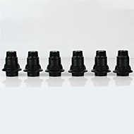 olcso Lámpa aljzatok-6db E14 Izzó csatlakozó lámpa Base Fémes Műanyag Izzó tartozék 70