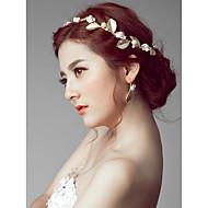お買い得  -女性用 花のスタイル 人造真珠 ヘアバンド