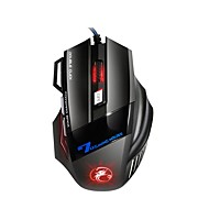 cheap Mice & Keyboards-x7 Wired Gaming Mouse Gaming DPI Adjustable Backlit Programmable Novelty 2400