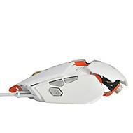 povoljno -AJAZZ GTX-white Žičano ergonomski miš Gamerske DPI podesivo 1000/2000/3000/4000