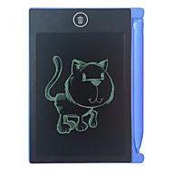 abordables Las tabletas gráficas-4.4 pulgadas tableta de escritura lcd digital de alta definición cepillos tablero de escritura a mano portátil sin radiatio