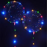 お買い得  おもちゃ & ホビーアクセサリー-LED照明 LEDバルーン おもちゃ 休暇 誕生日 蓄光 新デザイン 子供用 成人 1pcs 小品
