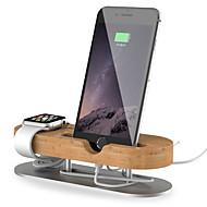 Недорогие Крепления и держатели для Apple Watch-универсальный Всё в одном деревянный Стол
