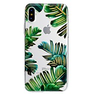 tanie Etui do iPhone-Kılıf Na Apple iPhone X iPhone 8 Plus Wzór Etui na tył Kwiaty Miękkie TPU na iPhone X iPhone 8 Plus iPhone 8 iPhone 7 Plus iPhone 7