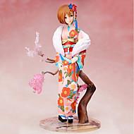 Χαμηλού Κόστους Μεταμφίεση και στολές-Anime Φιγούρες Εμπνευσμένη από Vocaloid Sakura Miku PVC CM μοντέλο Παιχνίδια κούκλα παιχνιδιών Ανδρικά Γυναικεία