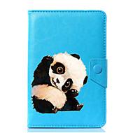 универсальный чехол для подставки для кожи panda pu для 7-дюймового 8-дюймового 9-дюймового планшета с 10-дюймовым планшетом