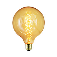 voordelige Gloeilamp-e27 40w g125 draad staaf bubble dragon edison retro decoratieve lamp filament