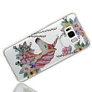 abordables Novedades en Accesorios para Samsung-Funda Para Samsung Galaxy S8 Plus S8 IMD Diseños Funda Trasera Unicornio Brillante Suave TPU para S8 Plus S8 S7 edge S7