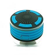 お買い得  スピーカー-F013 Speaker 吸盤式カメラマウント ブルートゥース4.2 マイクロUSB サブウーファー オレンジ ライトブルー