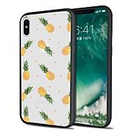 Недорогие Кейсы для iPhone 8 Plus-Кейс для Назначение Apple iPhone X iPhone 8 Plus С узором Кейс на заднюю панель Фрукты Мягкий ТПУ для iPhone X iPhone 8 Pluss iPhone 8