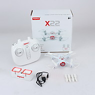 cheap RC Toys-RC Drone SYMA X22 4 Channel 6 Axis 2.4G Without Camera RC Quadcopter Forward / Backward RC Quadcopter User Manual