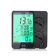 cheap Cycling & Bike Accessories-Sunding SD - 576A Odometer Speedometer Bicycle Computer Touch Screen Backlight Black