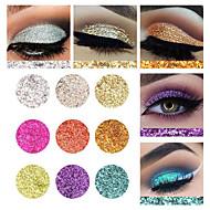 1 Paleta de Sombras de Ojos Brillo Paleta de sombra de ojos Polvo Maquillaje de Diario Maquillaje de Halloween Maquillaje de Fiesta