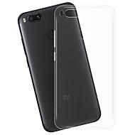 お買い得  携帯電話ケース-ケース 用途 Xiaomi Mi 5X クリア バックカバー クリア ソフト TPU のために Xiaomi Mi 5X Xiaomi A1