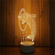1 sarja 3d tunnelma yövalo käsi tunne himmennettävä usb powered gift lampun harppaus