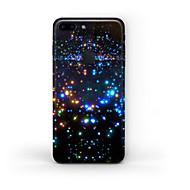 olcso iPhone kijelzővédők-1 db Tok matrica mert Karcolásvédő Ég Minta Matt PVC iPhone 7 Plus