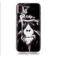 Недорогие Кейсы для iPhone 8-Кейс для Назначение Apple iPhone X / iPhone 8 / iPhone 8 Plus С узором Кейс на заднюю панель Животное Мягкий ТПУ для iPhone X / iPhone 8 Pluss / iPhone 8