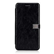 お買い得  -ケース 用途 Huawei Mate 10 lite カードホルダー フリップ 磁石バックル フルボディーケース 純色 ハード PUレザー のために Mate 10 lite Huawei
