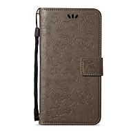 Недорогие Чехлы и кейсы для Galaxy A7(2017)-Кейс для Назначение SSamsung Galaxy A5(2017) Бумажник для карт Кошелек со стендом Флип С узором Чехол единорогом Твердый Кожа PU для