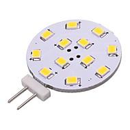 abordables Luces LED de Doble Pin-1pc 2W 180 lm G4 Luces LED de Doble Pin 12 leds SMD 2835 Luces LED Blanco Cálido Blanco Fresco