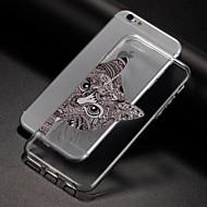 Недорогие Кейсы для iPhone 8-Кейс для Назначение Apple iPhone 8 iPhone 8 Plus iPhone 6 iPhone 7 Plus iPhone 7 С узором Кейс на заднюю панель Кот Мягкий ТПУ для iPhone