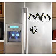 abordables Adhesivos Decorativos-Abstracto Animales Pegatinas de pared Calcomanías 3D para Pared Calcomanías Decorativas de Pared Calcomanías Para la Refrigeradora, Papel