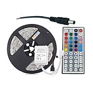 preiswerte -ZDM® 300 LEDs 5M Lichterkette 1 44Tastenfernbedienung RGB Schneidbar DC 12V