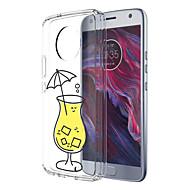 preiswerte Handyhüllen-Hülle Für Motorola E4 Plus Muster Rückseite Lebensmittel Weich TPU für Moto X4 Moto E4 Plus Moto E4