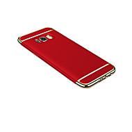 Недорогие Чехлы и кейсы для Galaxy S7-Кейс для Назначение SSamsung Galaxy S8 Plus S8 Ультратонкий Оригами Кейс на заднюю панель Сплошной цвет Твердый ПК для S8 Plus S8 S7 edge