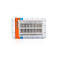 お買い得  -透明中型ブレッドボード/ 400穴/パッケージ付