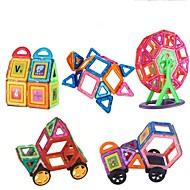 abordables Modelos y construcción de juguete-Bloques magnéticos Juguetes Coche Vehículos Plástico blando 151 Piezas