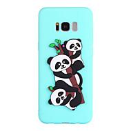 abordables Galaxy S7 Edge Carcasas / Fundas-Funda Para Samsung Galaxy S8 Plus S8 Diseños Cubierta Trasera Oso Panda Suave TPU para S8 Plus S8 S7 edge S7