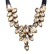 povoljno -Žene Geometric Shape Vintage Ležerne prilike slatko Lijep Ogrlice s privjeskom Sintetički dijamant Legura Ogrlice s privjeskom , Večer