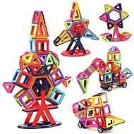 Χαμηλού Κόστους Αξεσουάρ για παιχνίδια και χόμπι-Μαγνητικό μπλοκ Τουβλάκια 40pcs Κλασσικό Γάτα Αυτοκίνητο Μεταμορφώσιμος Αλληλεπίδραση γονέα-παιδιού Οχήματα Αγορίστικα Παιχνίδια Δώρο