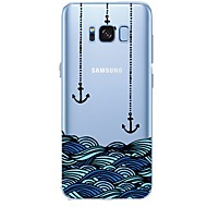 billige Galaxy S6 Edge Plus Etuier-Etui Til Samsung Galaxy S8 Plus S8 Mønster Anker Blødt for