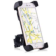 Motorsykkel / Sykkel Mobiltelefon Monter stativholder Justerbart Stativ Mobiltelefon Spenne Type / Sklisikker Silikon Holder
