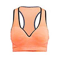 Χαμηλού Κόστους Αθλητικός Ρουχισμός-Γυναικεία Suport Medium Αθλητικά Σουτιέν Γρήγορο Στέγνωμα Διαπερατότητα Υγρασίας Αναπνέει Συμπίεση Αθλητικά Σουτιέν Μπολύζες για Γιόγκα