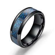 Pánské Band Ring Nerez Drak Asijský styl Vintage Fashion Ring Šperky Světle modrá Pro Dar Denní 7 / 8 / 9 / 10 / 11