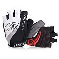Nuckily Sports Gloves Gloves Bike Gloves / Cycling Gloves Reflective Wearable Breathable Wearproof Protective Anti-skidding Article