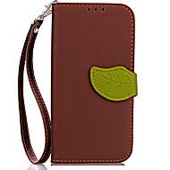 Недорогие Чехлы и кейсы для Galaxy S9-Кейс для Назначение SSamsung Galaxy S9 S9 Plus Бумажник для карт Кошелек со стендом Флип Магнитный Чехол Сплошной цвет Твердый Кожа PU для