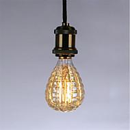 お買い得  白熱灯-1pc休日光dimmable e27火バルーンレトロランプ40wヴィンテージエジソン電球ac220-240v