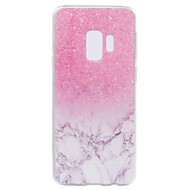 billige Galaxy S5 Mini Etuier-Etui Til Samsung Galaxy S9 S9 Plus Transparent Mønster Bagcover Marmor Blødt TPU for S9 Plus S9 S8 Plus S8 S7 edge S7 S6 edge S6 S5 Mini