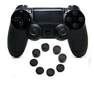 ps4에 대한 실리콘 모자와 무선 블루투스 게임 컨트롤러 gamepad 컨트롤러 조이스틱 gamepads