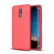 Недорогие Чехлы для телефонов-Кейс для Назначение Huawei Mate 10 lite Mate 10 Ультратонкий Кейс на заднюю панель Сплошной цвет Мягкий ТПУ для Mate 10 Mate 10 pro Mate